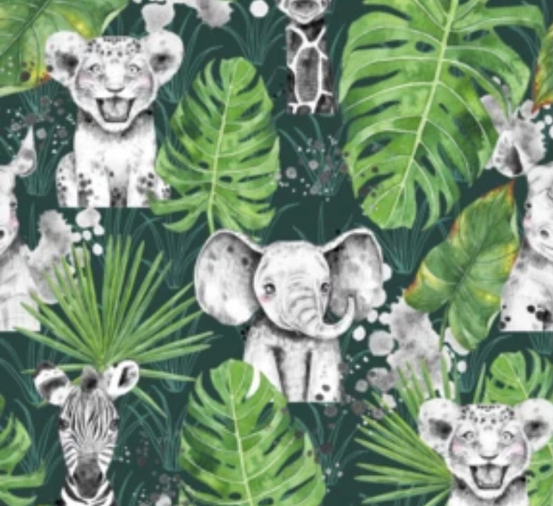 Green Jungle Bummies