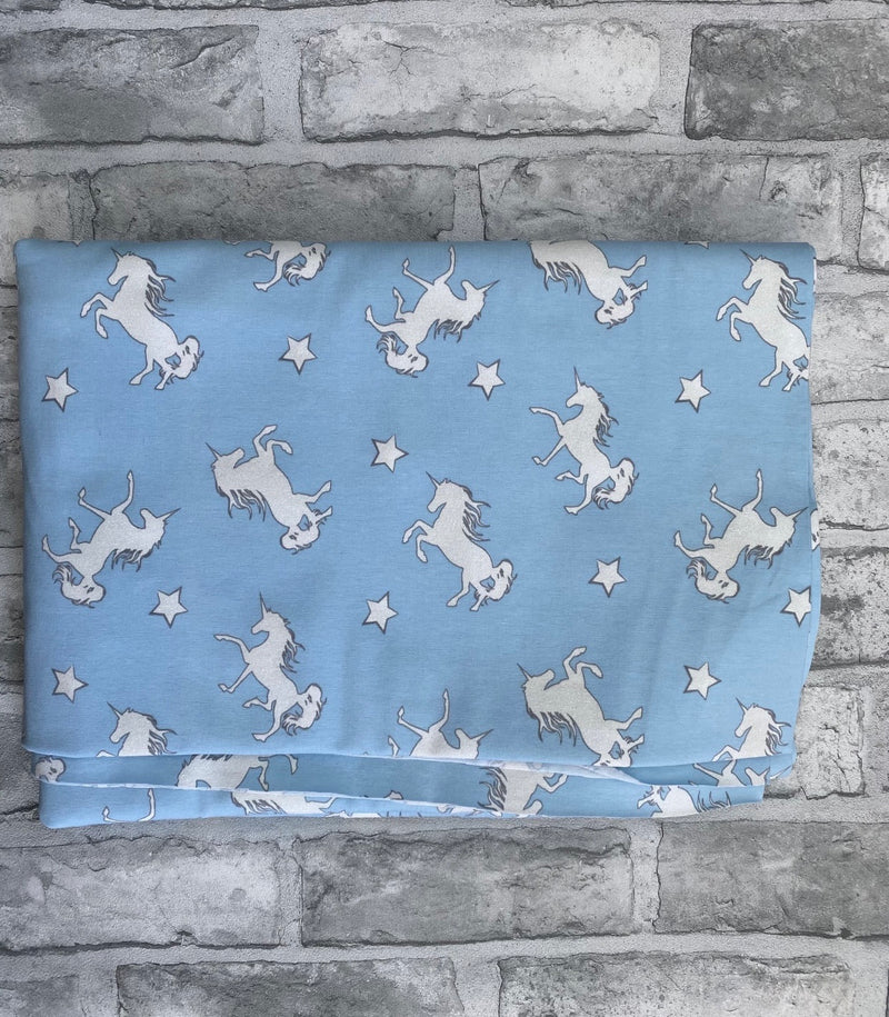 Blue Colour Changing Unicorn Long Rompers