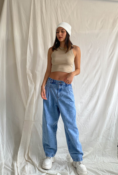 Baggy denim - ice