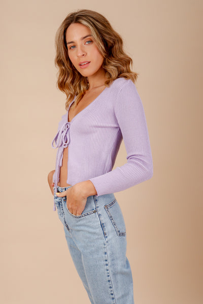Ariel Sweater - Lila