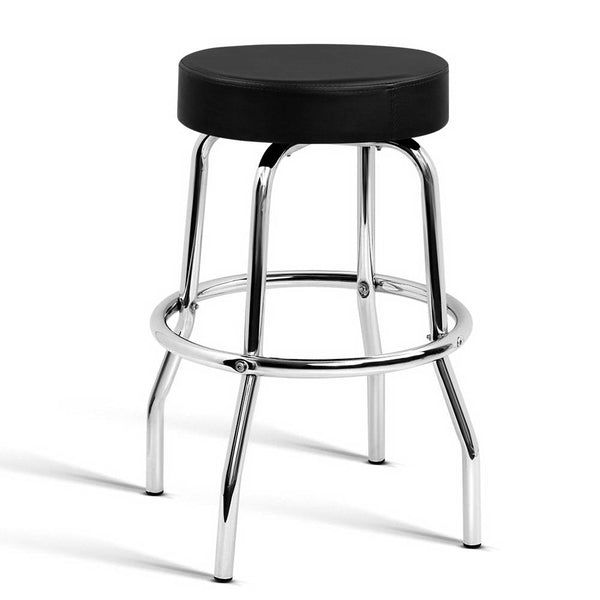 Artiss PU Leather Guitar Bar Stool - Black