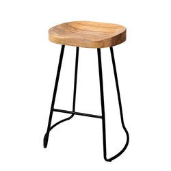 Artiss Set of 2 Wooden Backless 75CM Seat Height Bar Stools - Natural | Superior Seating | Premium Office Chairs, Lounge Chairs, Dining Chairs, Gaming Chairs, Bar Stools and Massage Chairs