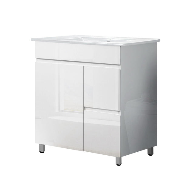Cefito Bathroom Vanity Cabinet Unit Wash Basin Sink Storage Freestanding 750mm