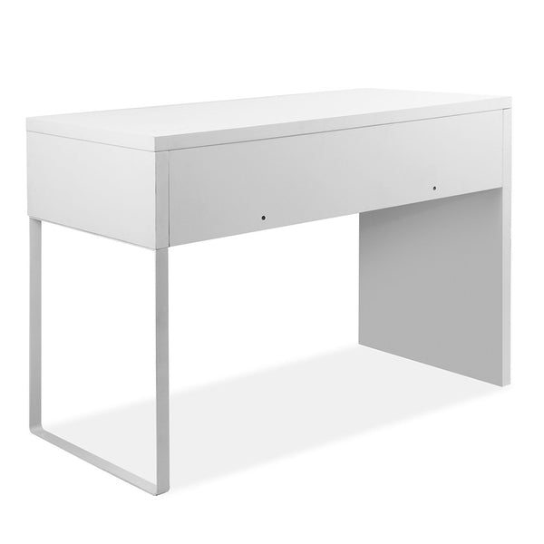 Superior Seating Metal Desk with 2 Drawers - White