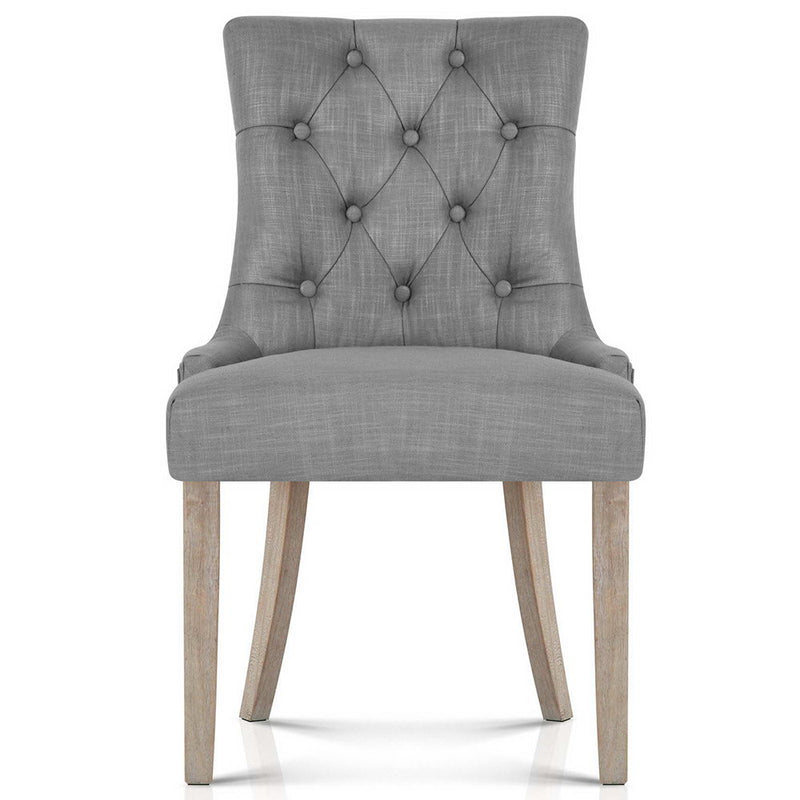Superior Seating French Provincial Dining Chair - Grey