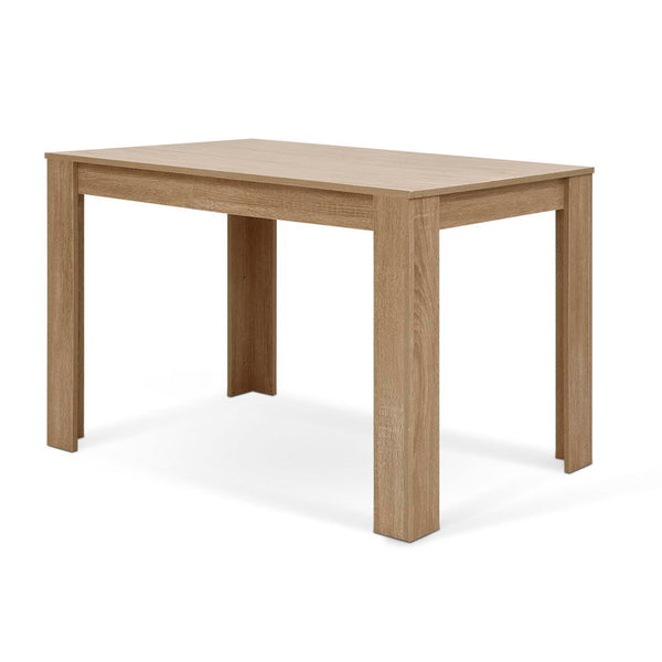 Superior Seating Wooden Dining Table NATU 120cm 4 Seater Kitchen Rectangular Modern Oak