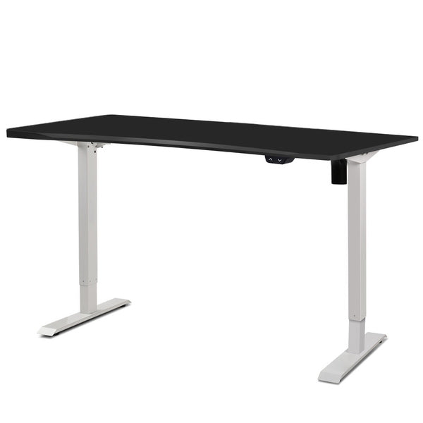 Superior Seating Roskos I Electric Motorised Height Adjustable Standing Desk Sit Stand Table Curved 140cm