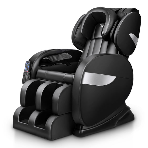 Livemor Electric Massage Chair Full Body - Black | Superior Seating | Premium Office Chairs, Lounge Chairs, Dining Chairs, Gaming Chairs, Bar Stools and Massage Chairs