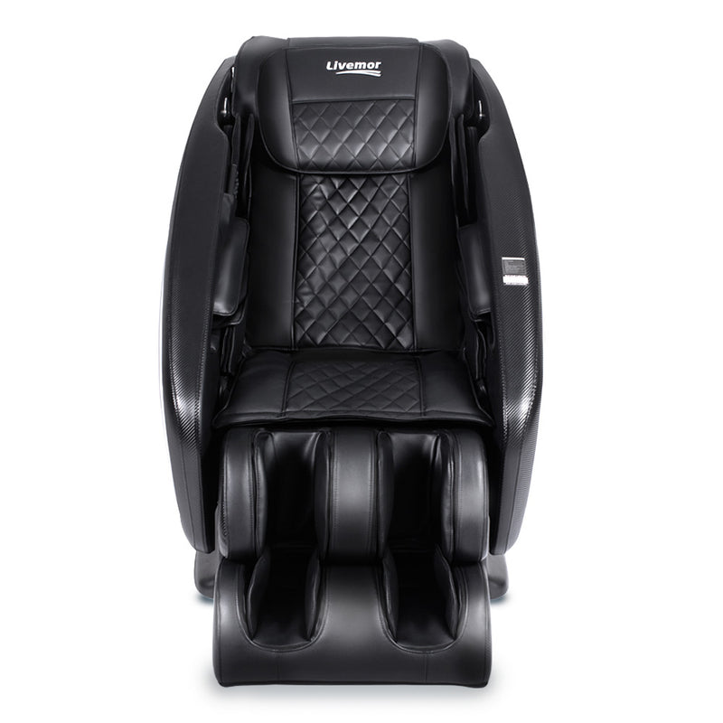Livemor 4D Electric Massage Chair Full Body 52 Air Bags - Black | Superior Seating | Premium Office Chairs, Lounge Chairs, Dining Chairs, Gaming Chairs, Bar Stools and Massage Chairs
