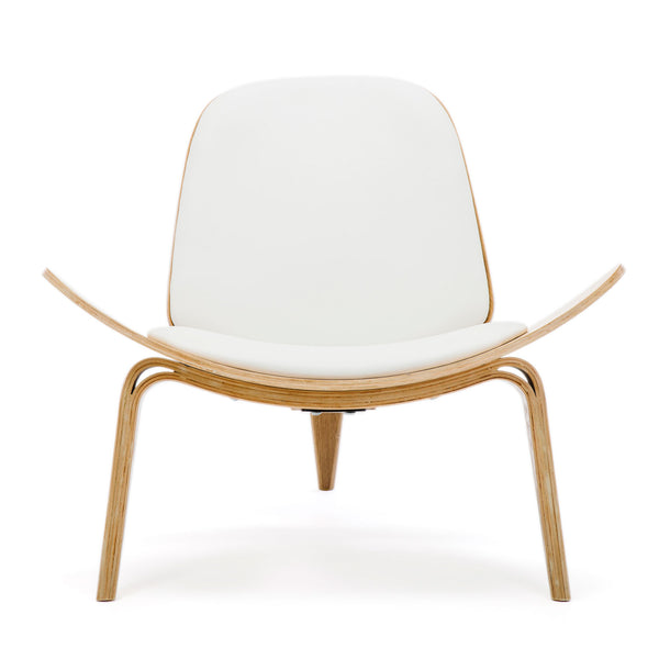 Replica Hans Wegner Shell Chair - Ash