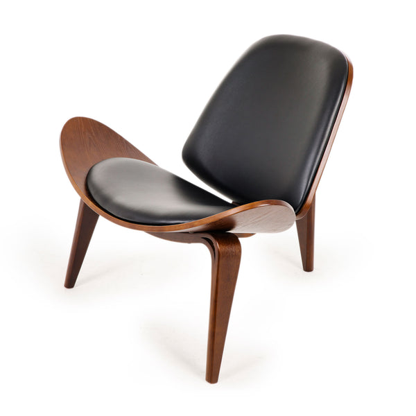 Replica Hans Wegner Shell Chair - Walnut