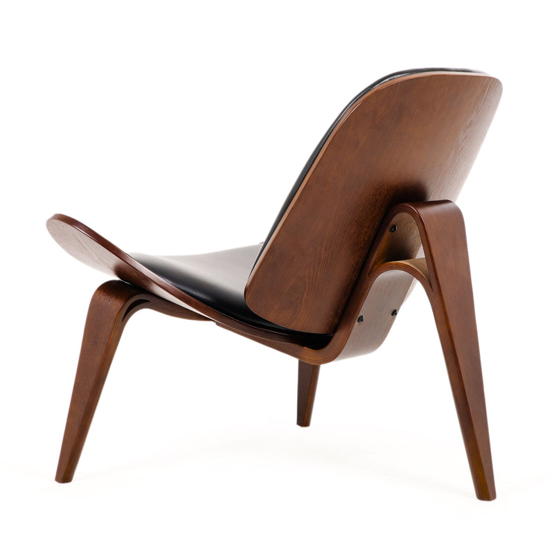 Replica Hans Wegner Shell Chair - Walnut | Superior Seating | Premium Office Chairs, Lounge Chairs, Dining Chairs, Gaming Chairs, Bar Stools and Massage Chairs