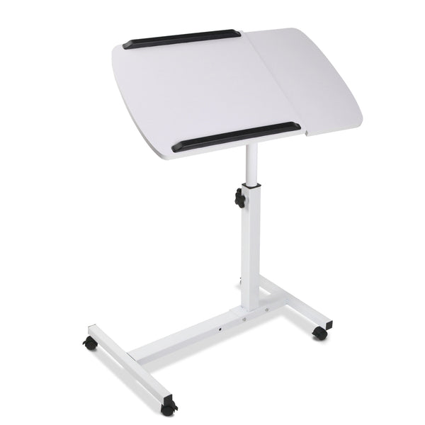 Adjustable Computer Stand - White/Black