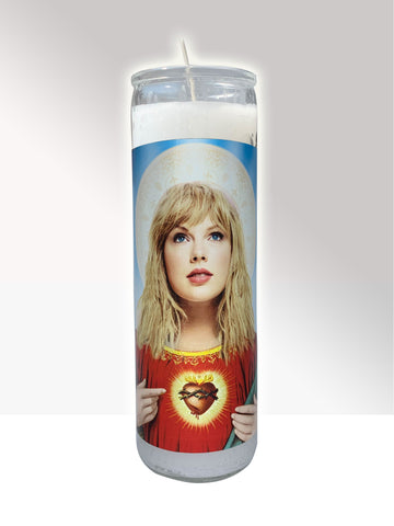 Taylor Swift Prayer Candle ALLGOODLAB