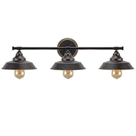 3-Light Wall Sconce Bathroom Vanity Light Fixture