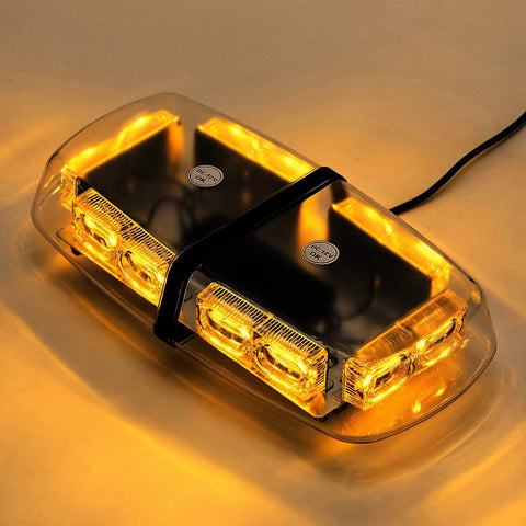 LED Amber Yellow Strobe Light Emergency Light for Vehicles