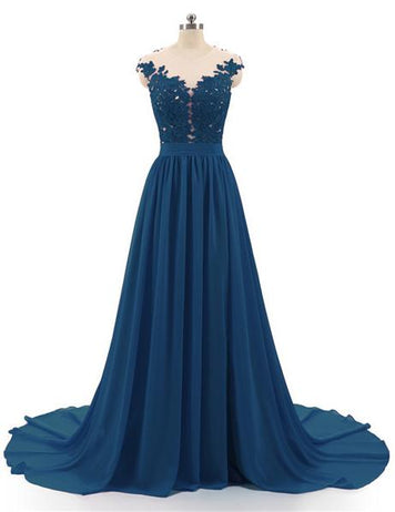Peacock Blue affordable fashion dress