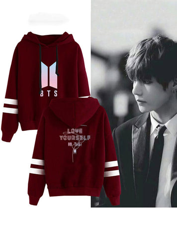 BTS  love yourself sweatshirts