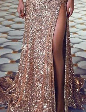 Buy Sparkling Sequined Cocktail Party Dress Online