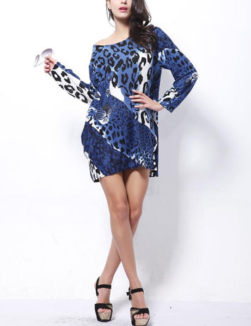 animal print dresses plus size