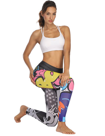 Multicolor Sport Pants for Women