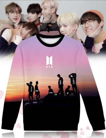 bts pullover sweater