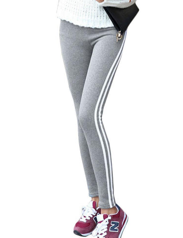 Slim Fit Sports Leggings - Fancyqube