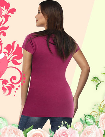 comfortable maternity blouse