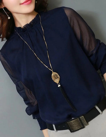 elegant lady blouse