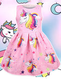 unicorn kids dress