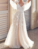 maxi wedding dress