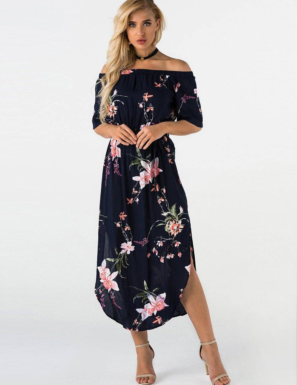long maxi summer dresses