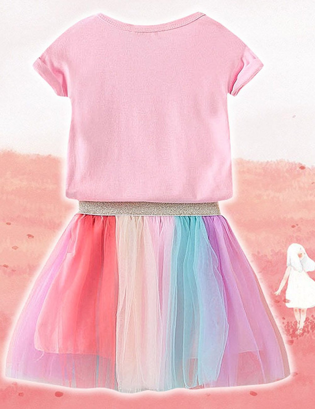 7712854c56b baby girl unicorn dress. rainbow tulle tutu party dress. baby clothing  shopping online