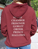 unisex couple matching harry potter hoodie