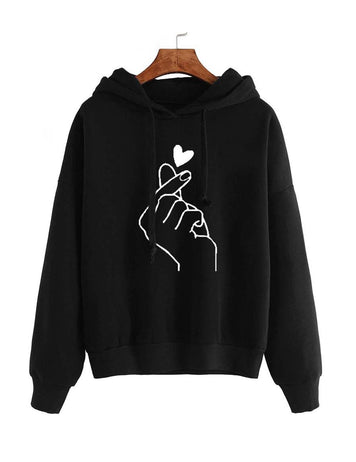 fashion print sweatshirt