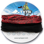 TYTN Microfibre & Polar Fleece Neck Warmer Head Scarf - Multifunctional Bandana for Winter Outwear