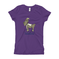 Cashmere Goat Girl's T-Shirt