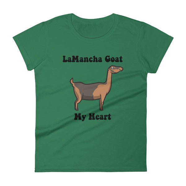 LaMancha Goat My Heart | Premium Women's short sleeve t-shirt