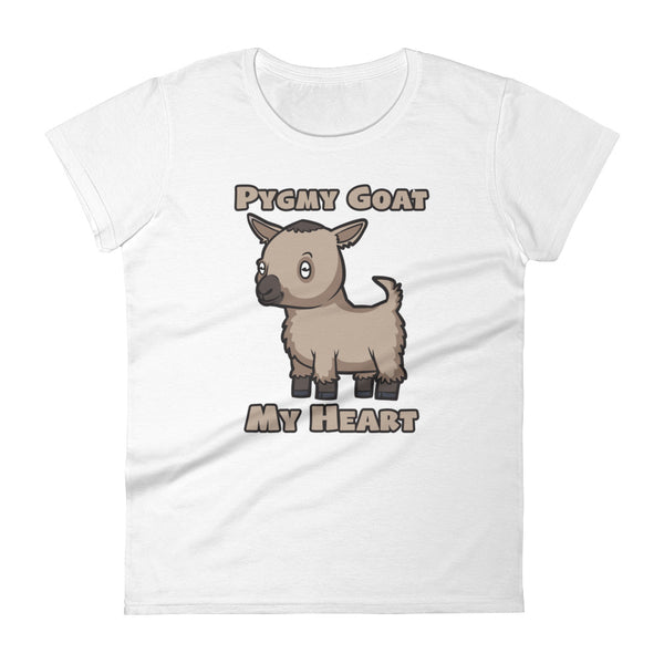 Pygmy Goat My Heart | Premium Women's short sleeve t-shirt