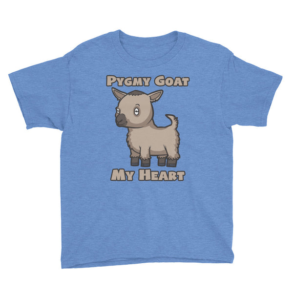 Pygmy Goat My Heart Youth Short Sleeve T-Shirt