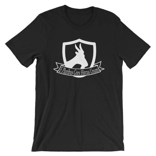 """One out of many, a great herd of the goat"" Short-Sleeve Unisex T-Shirt"