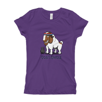 Boer Goat Girl's T-Shirt