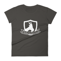 """One out of many, a great herd of the goat"" Women's short sleeve t-shirt"
