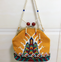 Shereo's crochet pattern of Dynasty shoulder bag
