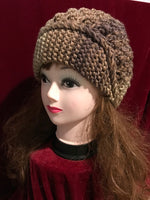 Pure handmade fashion mixed color joint crochet knitting hat #1012
