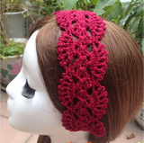 Pure handmade hollowed flower simple color Hair band