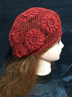 Pure handmade fashion new style flowers crochet knitting hat style#1008