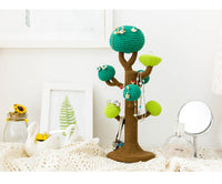 Shereo's crochet pattern+video tutorial of Tree Jewelleries Stand