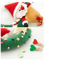 Shereo's crochet pattern of Christmas garland