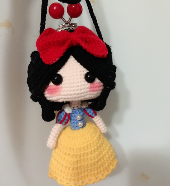 Shereo's crochet pattern+video tutorial of little cute princess crochet clasp shouder bag for little girls